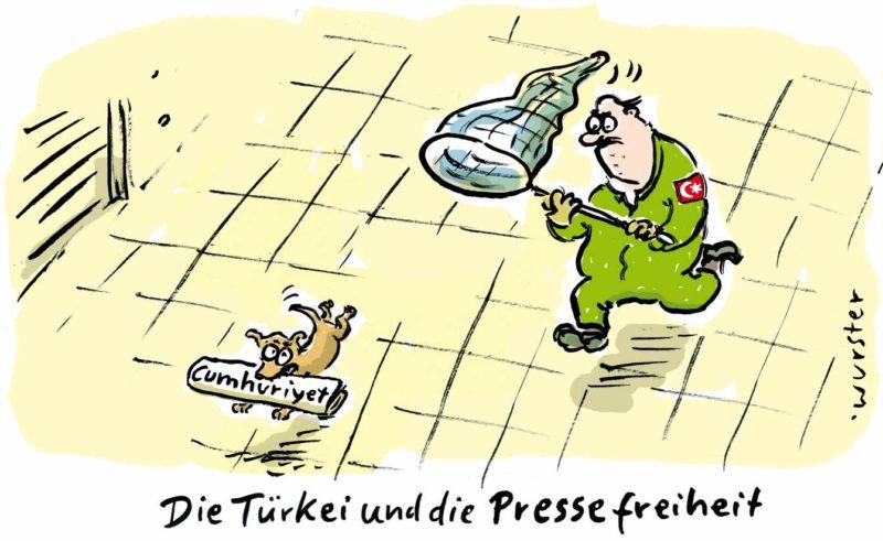 Cumhuriyet Prozess Journalismus Türkei Pressefreiheit
