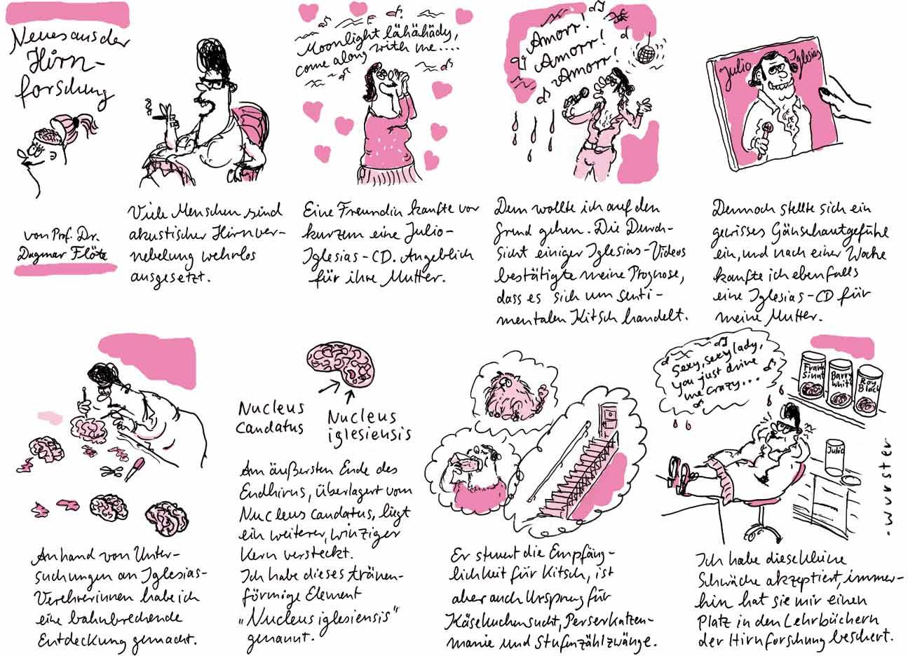 Gehirn Kitsch Manien Zwänge Musik Forschung Wissenschaft