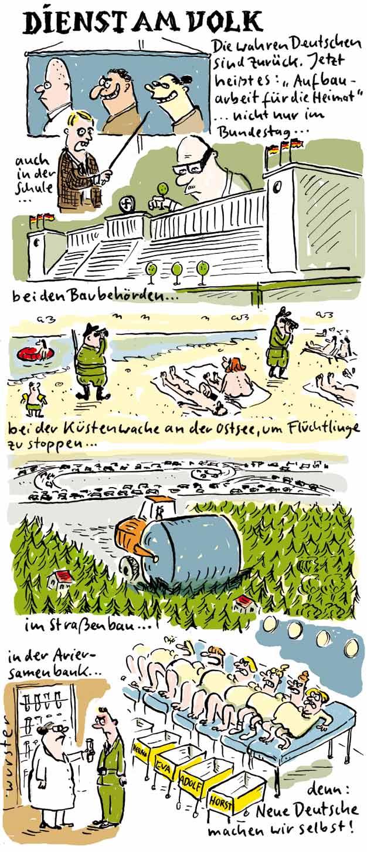 AFD Höcke Gauland Lebensborn völkisch