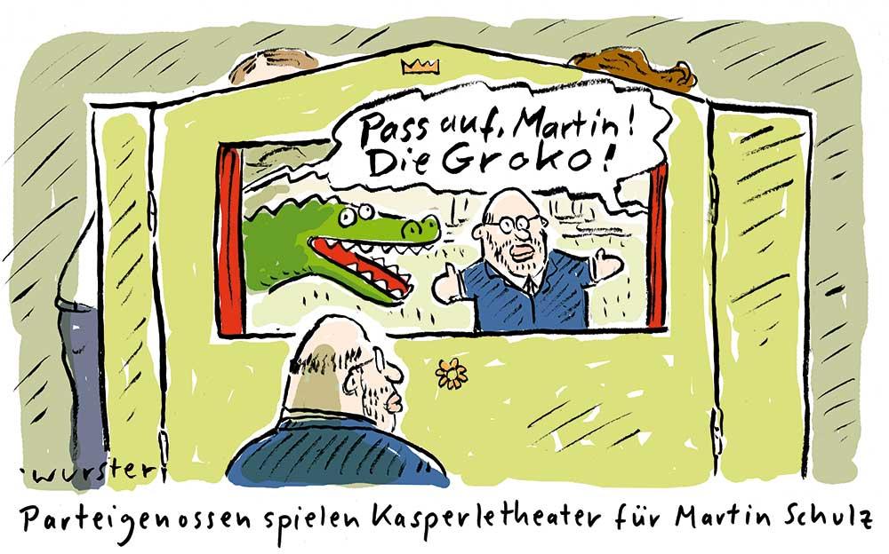 SPD Sondierung Große Koalition Parteigenossen