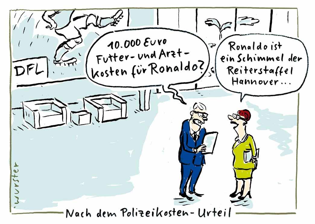 Rechnung Ronaldo Wurster Cartoon Blog De