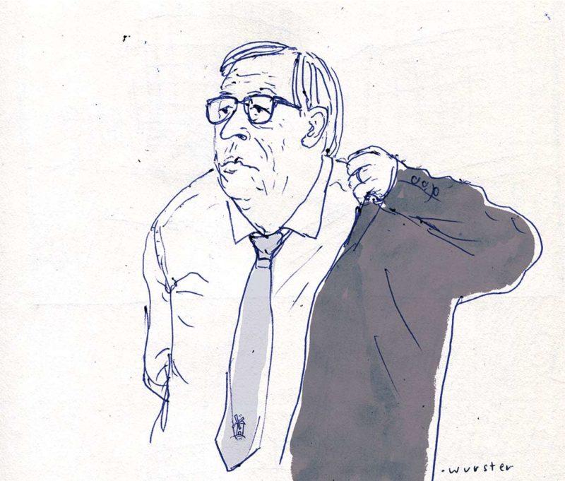 Der traurige Ritter, Jean-Claude-Juncker tritt als Chef der EU-Kommission ab